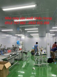 nhà máy sản xuất khẩu trang