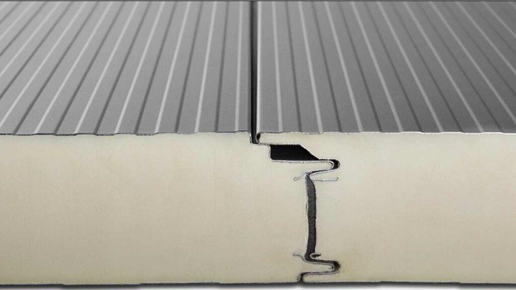 tấm vách ngăn cách nhiệt panel PU